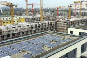 PV-Anlage Charlotte am Campus in Adlershof