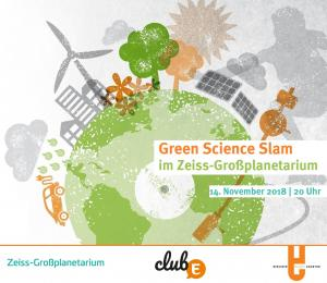 ClubE-Event: Green Science Slam im Zeiss-Großplanetarium